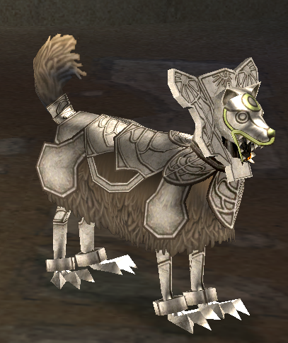 Picture of Silver Armor Hound