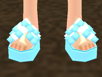 Bubbly Sailor Sandals Equipped Front.png