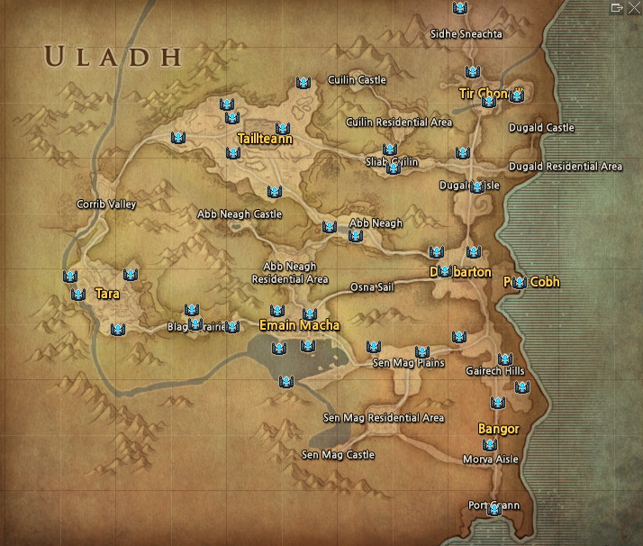 Mabinogi World Map.Category Uladh Mabinogi World Wiki