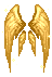 Golden Flame Wings