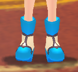 Equipped   Atui's Shoes  viewed from the front