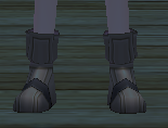 Equipped  Haku's Shoes viewed from the front