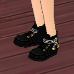 Equipped  Illusion Shoes (M) viewed from an angle