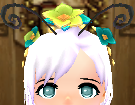 File:Butterfly Headdress (F) Equipped Front.png