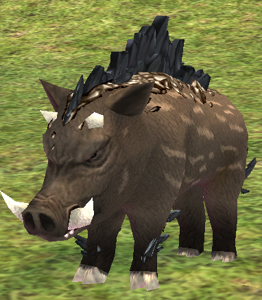 Picture of Onyx Crystal Boar