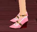 Equipped  Witch Scathach Shoes viewed from the side