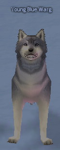 Picture of Young Blue Warg