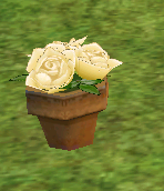 Homestead White Rose Flower Pot on Homestead.png