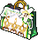 Inventory icon of Floral Fairy Outfit Shopping Bag (F)