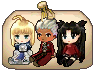 Rin, Archer, and Saber Doll Bag.png