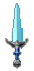 Inventory icon of Battle Short Sword (Light Blue Blade)