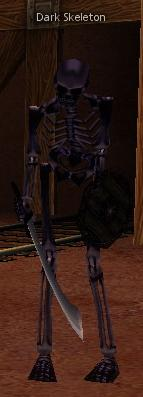 Picture of Dark Skeleton