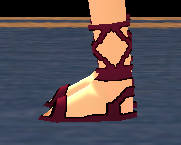 Equipped Long Sandals viewed from the side