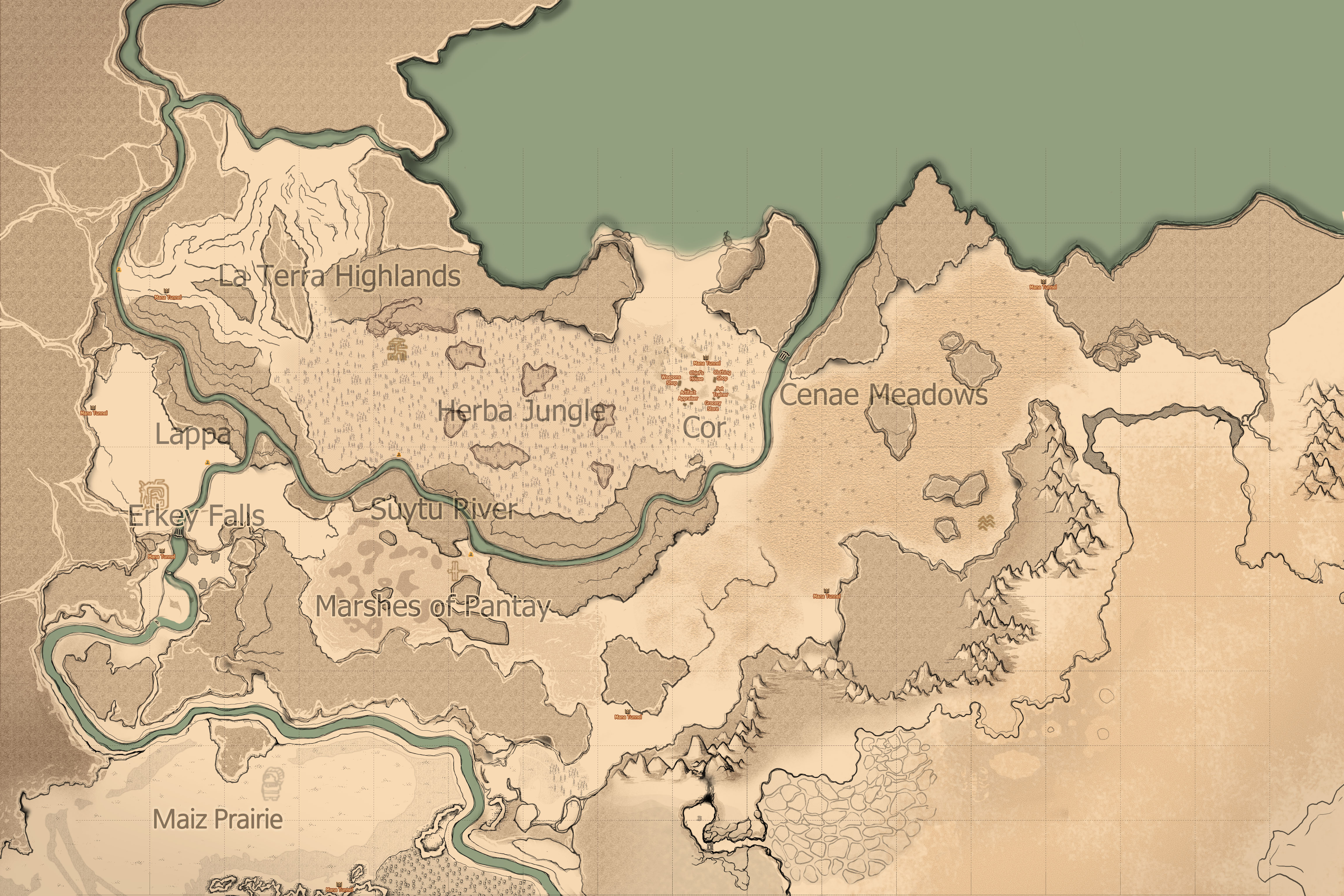 Mabinogi World Map.File Courcle Map Jpg Mabinogi World Wiki
