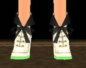 Equipped  Coco's Heels viewed from the front