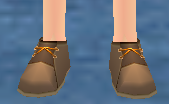 Equipped  Shoes for Alchemist-in-Training viewed from the front